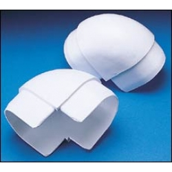 DOCK EDGE - AIR CUSHION PROFILES, WHITE