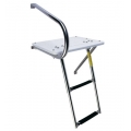 LADDER - OUTBOARD TRANSOM PLATFORM & TELESCOPING