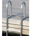 DOCK EDGE 3 STEP WELDED ALUMINUM FIXED LADDER