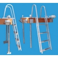 DOCK EDGE 4 STEP STAND-OFF LADDER