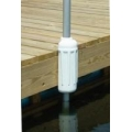 """DOCK AND POST BUMPER - 7"""" X 17"""" WHITE"""