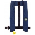 MUSTANG - INFLATABLE COLLAR PFD MANUAL, NAVY BLUE