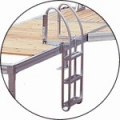 3 STEP ALUMINUM PIVOTING LADDER