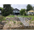 DOCK STEPS / hand rail / aluminum**