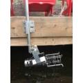 Deicer Bubbler Dock Mount Kit 5 Foot Long with easy Rotation Adjustment