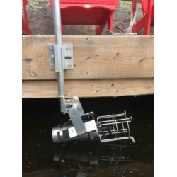 Deicer Bubbler Dock Mount Kit 5 Foot Long with easy Rotation Adjustment