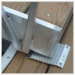 RAMP WALKWAYS  / hand rail / aluminum