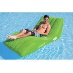 Single Cool Suede Zero Gravity Lounges (LIME)