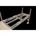 Shoreline truss 4 x 10 / legs/pads/ Cedar decking   *