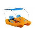 WATER BEE 202 DELUXE 4 PERSON SELF BAILING PADDLE BOAT