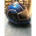 HELMET XL MODULAR Double lens / SNOWMOBILE , ATV , MOTORCYCLE *