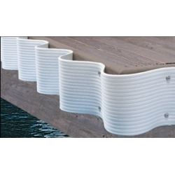 DOCK EDGE - FLEXGUARD 25 FT. ROLL/GREY